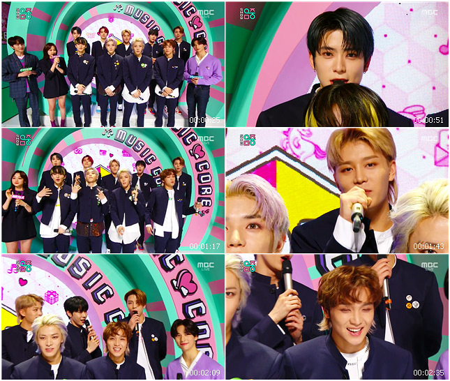 200307 MBC Music Core NCT 127 - Interview